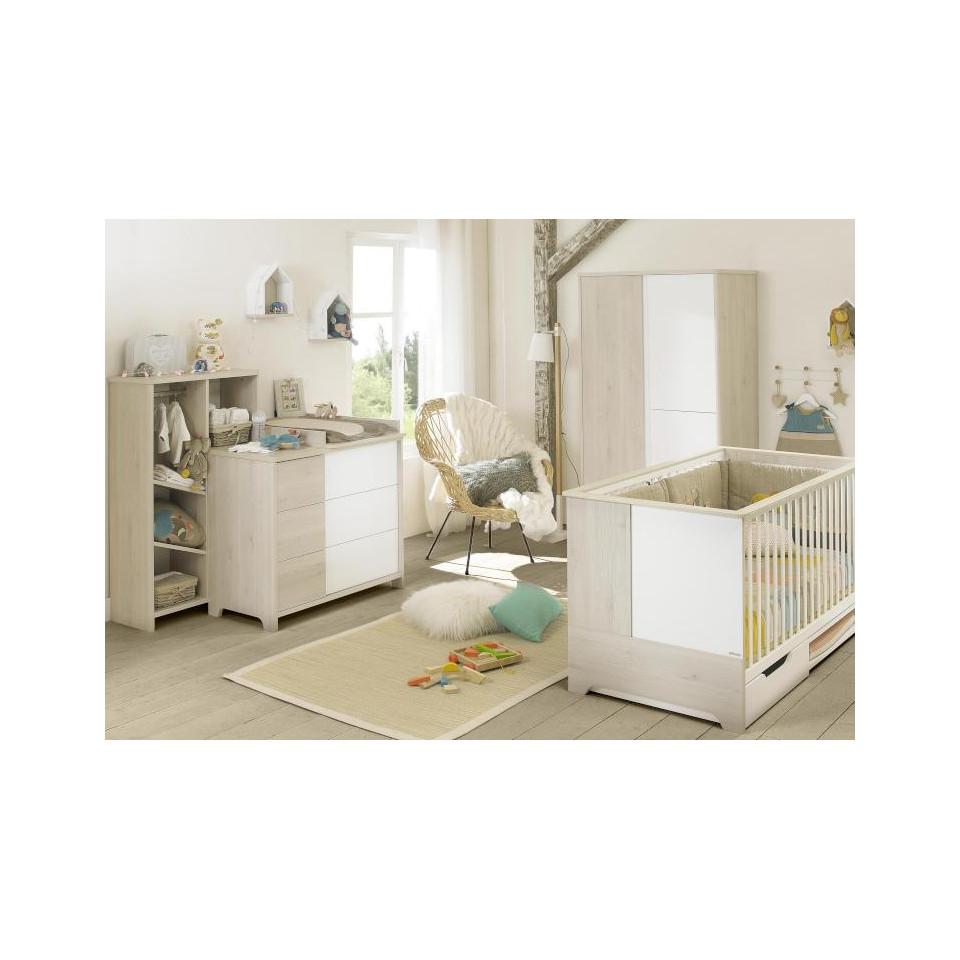 chambre nael chambre oslo gouttes avec lit x cm commode plan langer armoire fabrication. Black Bedroom Furniture Sets. Home Design Ideas
