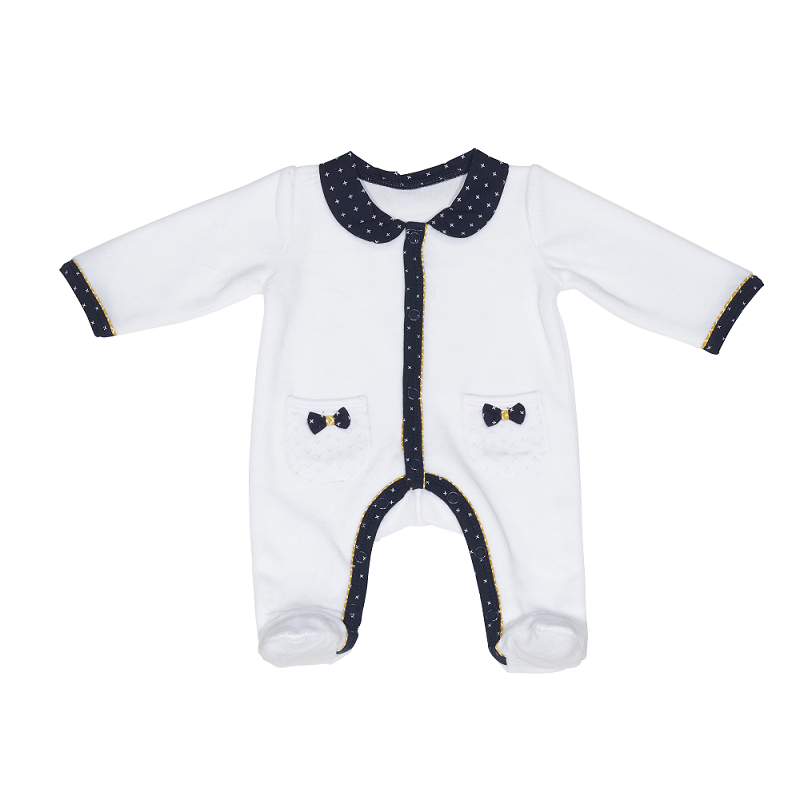 86fddcb139165 Pyjama en velours Fille 3mois SAUTHON Hello - Drive Made4baby Béziers