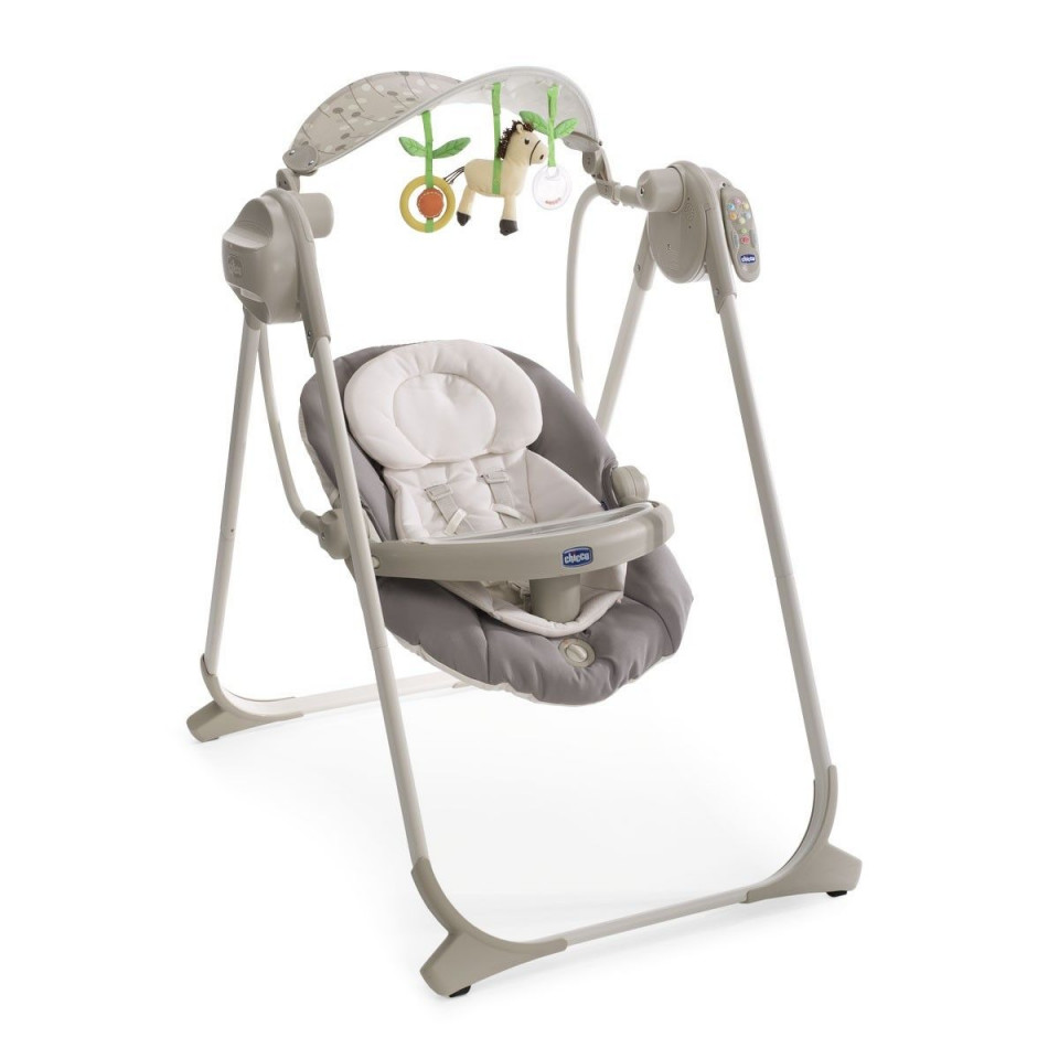 Balancelle Polly Swing Up Chicco Silver Drive Made4baby Blagnac