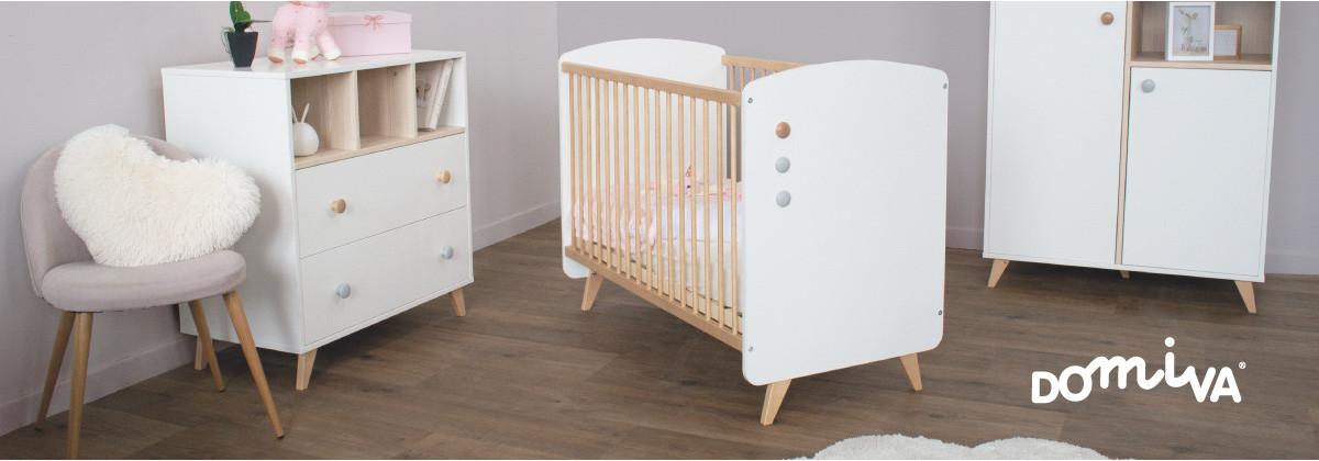 Les chambres de bébé chez Domiva