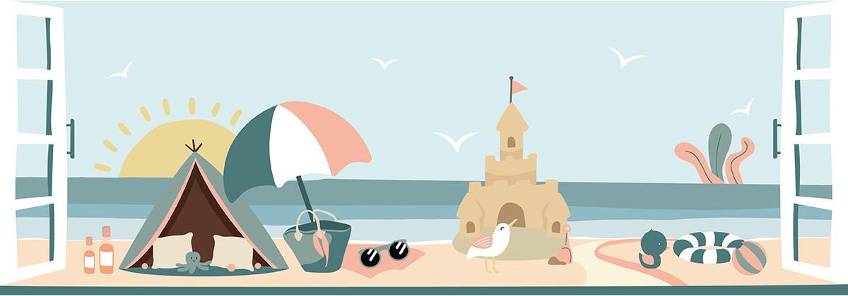 Les accessoires de bébé pour la plage !