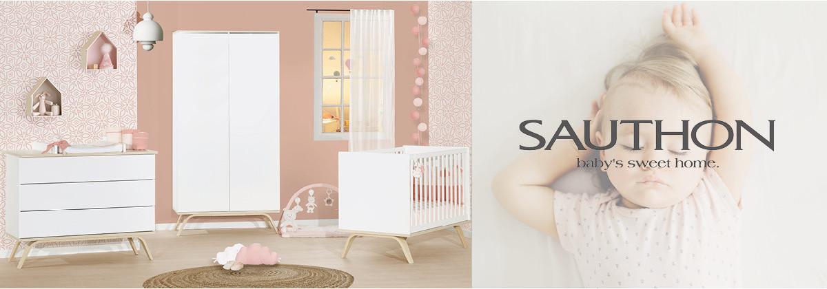 Découvrez les chambres bébé signées Sauthon