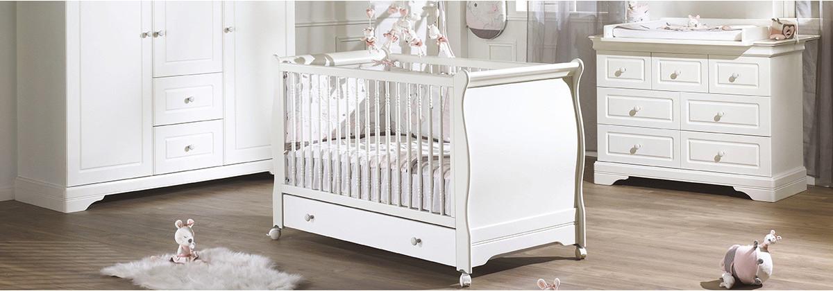 La chambre bébé Élodie signée Sauthon