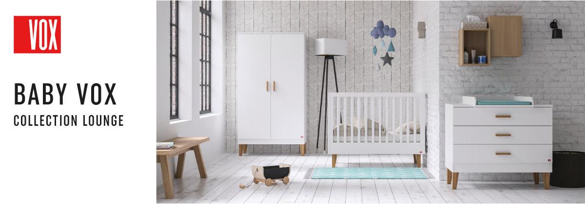 La chambre bébé Lounge par Vox