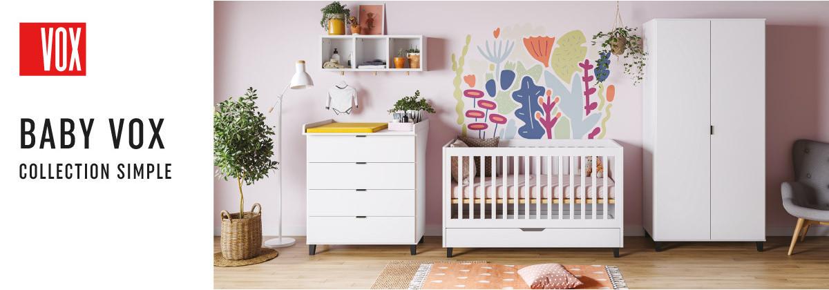 La chambre bébé Simple par Vox