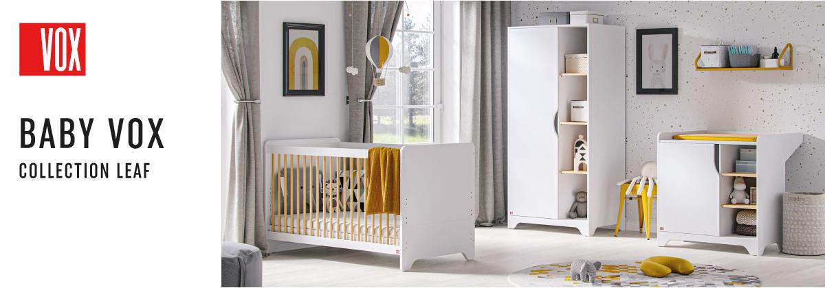 La chambre bébé Leaf par Vox
