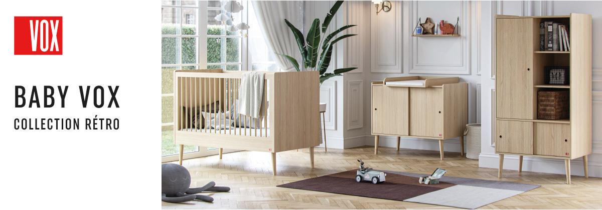 La chambre bébé Retro par Vox