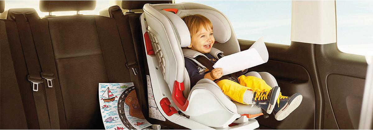 Les sièges auto enfant avec harnais