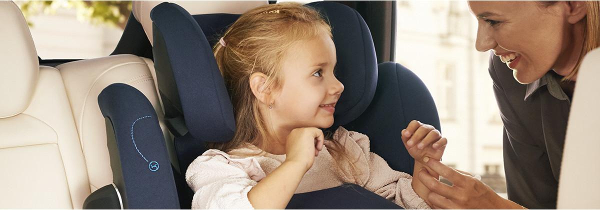 Les sièges auto enfant avec bouclier