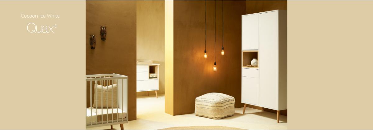 La chambre Cocoon Ice White par Quax