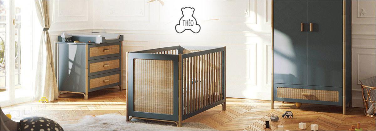 Les chambres de bébé  signées Théo