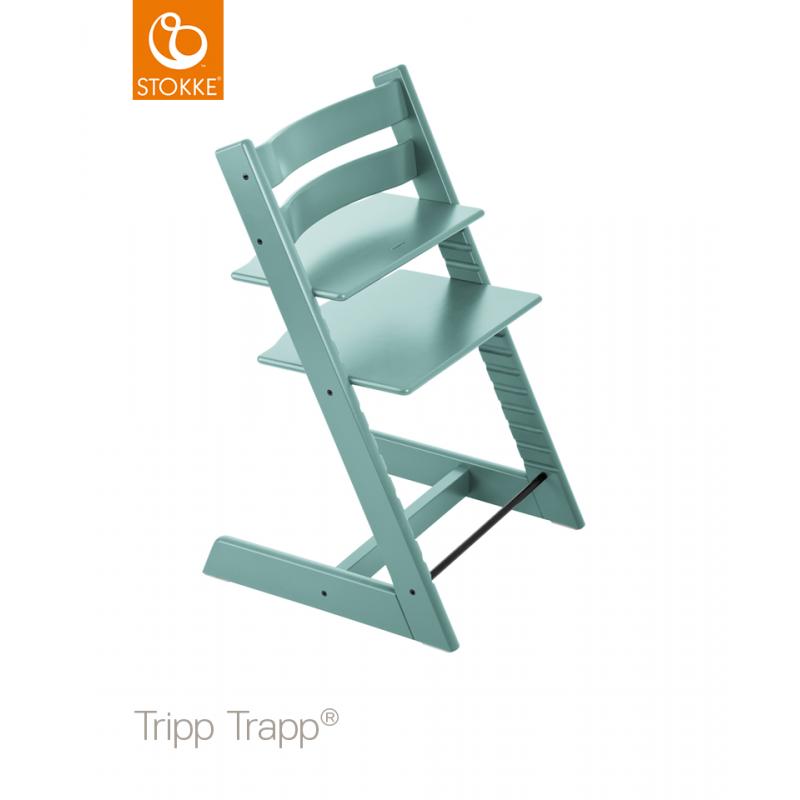 Chaise Haute Tripp TrappR STOKKER Bleu Aqua