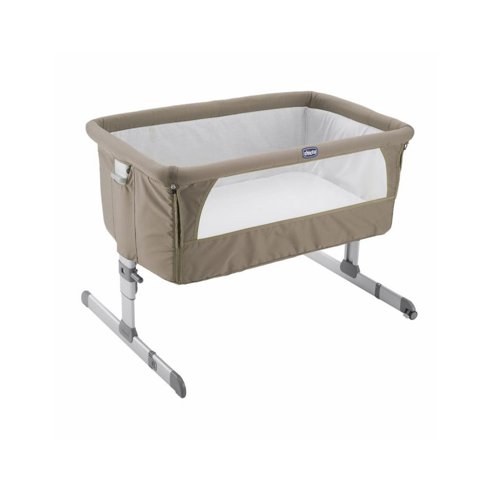 Berceau Next2me Allaitement Chicco Dove Grey Drive Made4baby