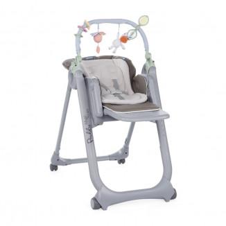 Chaise haute polly magic relax chicco marron drive made4baby portet sur garonne - Harnais chaise haute chicco ...